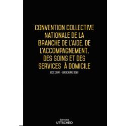 Convention collective nationale Aide à domicile janvier 2018 + Grille de Salaire