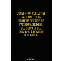 Convention collective nationale Aide à domicile Septembre 2018 + Grille de Salaire