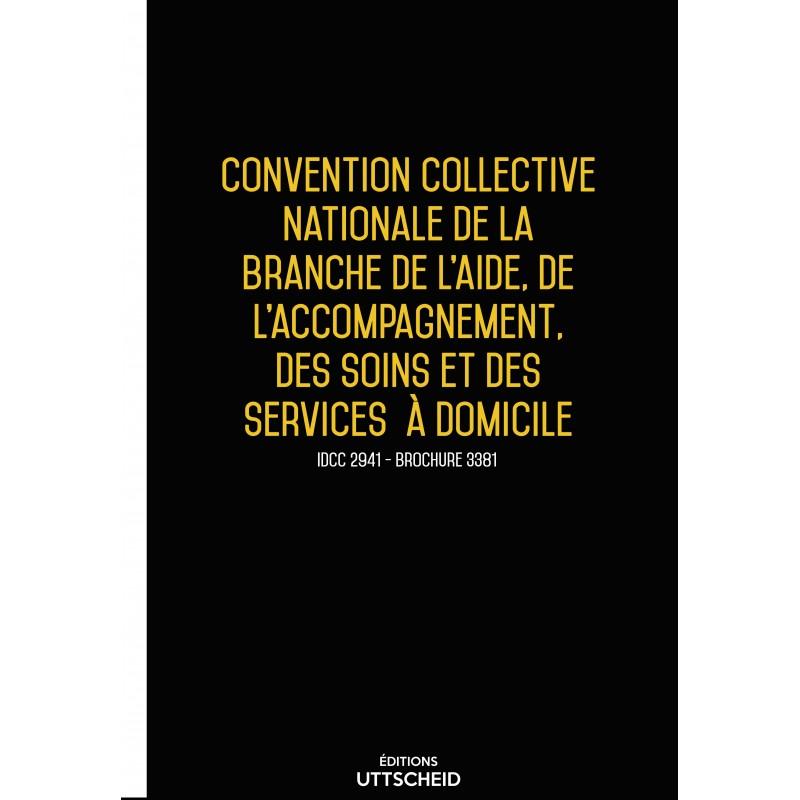 Convention collective nationale Aide à domicile MAI 2017 + Grille de Salaire