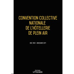 Convention collective nationale Hôtellerie de plein air Avril 2018 + Grille de Salaire