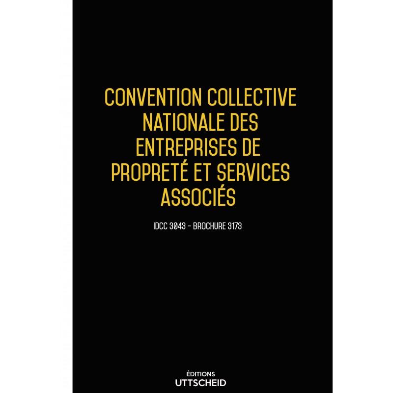 Convention collective nationale des entreprises de propreté et services associés + Grille de Salaire