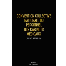 Convention collective nationale Cabinets Médicaux décembre 2017 + Grille de Salaire