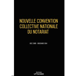 Convention collective nationale Notariat Avril 2018 + Grille de Salaire