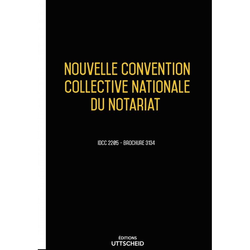 Convention collective nationale Notairiat  + Grille de Salaire