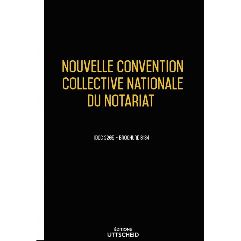Convention collective nationale Notairiat  + Grille de Salaire