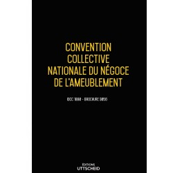 Convention collective nationale Négoce ameublement Avril 2018 + Grille de salaire