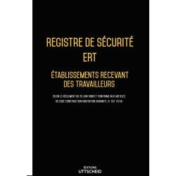 Registre de sécurité incendie ERT