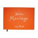 Livre d'or Mariage - 100 pages Couverture mate - A4 Paysage - Album - Qualité Premium - Uttscheid