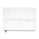 Carnet, album, journal de voyage, -  Lettres chromées -100 pages - Qualité premium - Uttscheid