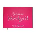 Gästebuch Hochzeit - 100 leere seiten, mate cover - Premium-Qualität - Uttscheid