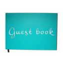 Guest Book - 100 numbered pages, mate cover - Premium quality - Uttscheid