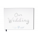 Guest Book : Wedding - 100 numbered pages, mate cover - Premium quality - Uttscheid