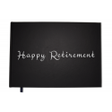Guest book : Happy Retirement - 100 numbered pages, mate cover - Premium quality - Uttscheid