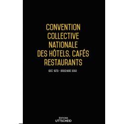 Convention collective nationale des hôtels, cafés restaurants (HCR) Avril 2018 + Grille de Salaire