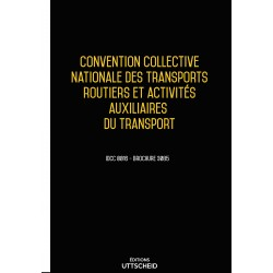 Convention collective nationale Transports routiers Avril 2018 + Grille de Salaire