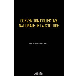 Convention collective nationale de la coiffure Septembre 2018 + Grille de Salaire