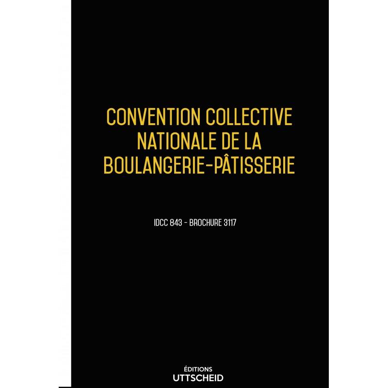 Convention collective des entreprises industrielles de boulangerie-pâtisserie décembre 2017 + Grille de Salaire