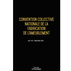 Convention collective nationale de la fabrication de l'ameublement décembre 2017