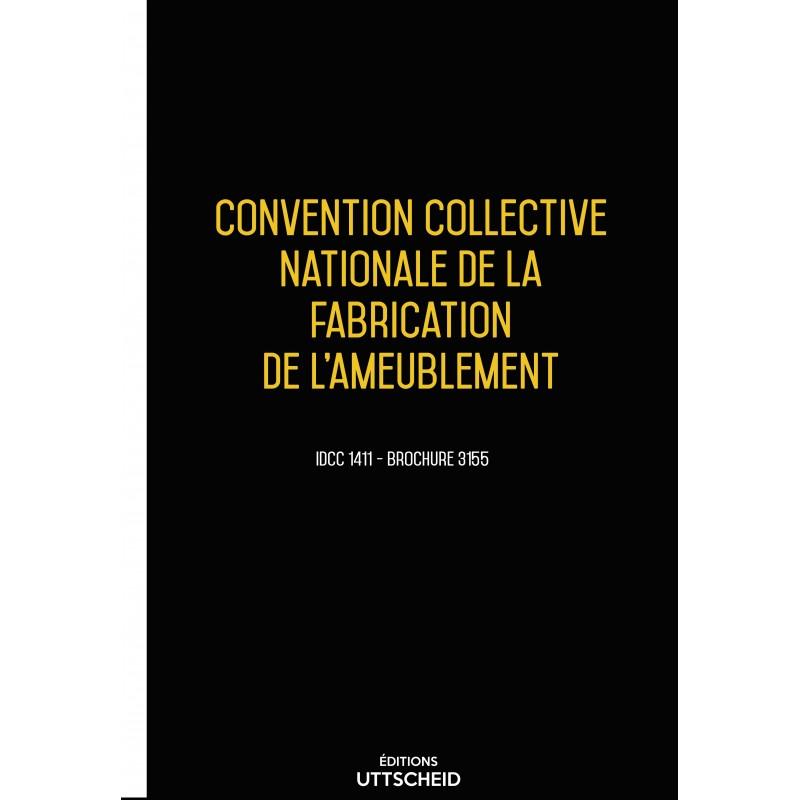 Convention collective nationale de la fabrication de l'ameublement décembre 2017