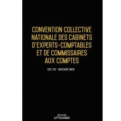 Convention collective nationale Comptables et Commissaires aux comptes + Grille de salaire Septembre 2018