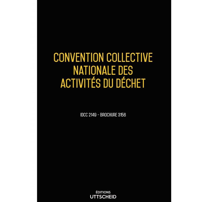 Convention collective nationale des activités du déchet décembre 2017