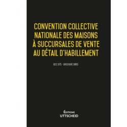 Convention collective des maisons à succursales de vente au détail l'habillement