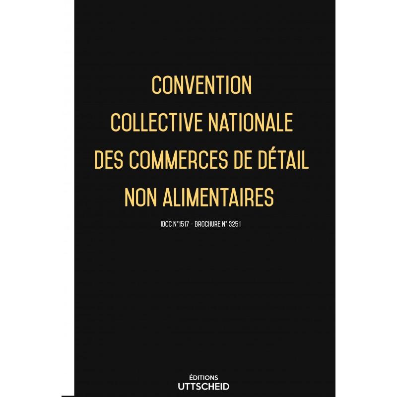 Convention Collective Nationale Des Commerces De Detail Non Alimentaires 2019 Grille De Salaire