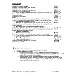 Registre de sécurité incendie ERP de type W (administrations, banques, bureaux)