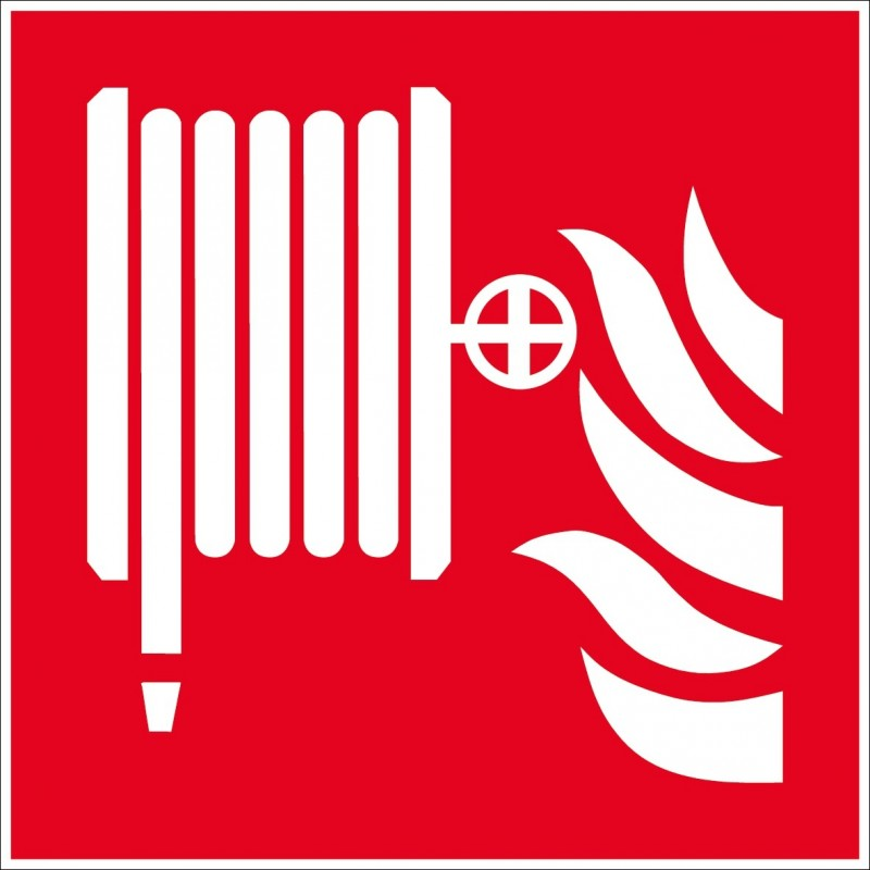 Panneau lance incendie