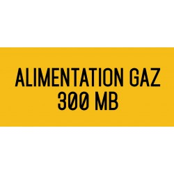 Alimentation gaz 330 MB - L.200 x H.100 mm