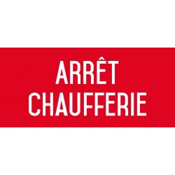 Arrêt chaufferie - L.200 x H.100 mm