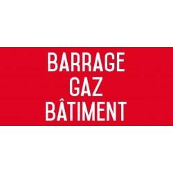 Barrage gaz bâtiment - L.200 x H.100 mm