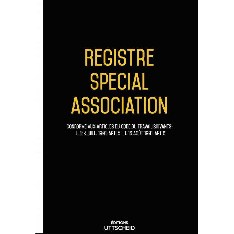 Registre spécial de l'association