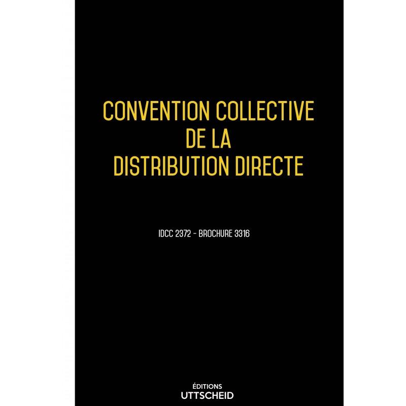 Convention collective des distributeurs conseils hors domicile AVRIL 2017 + Grille de Salaire