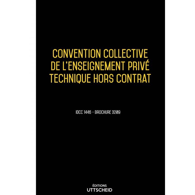 Convention collective de l'enseignement privé technique hors contrat AVRIL 2017 + Grille de Salaire