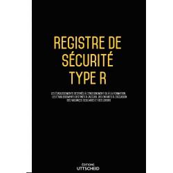 Registre de sécurité incendie ERP de type R (établissement d'éveil, d'enseignement, accueil de loisirs…)