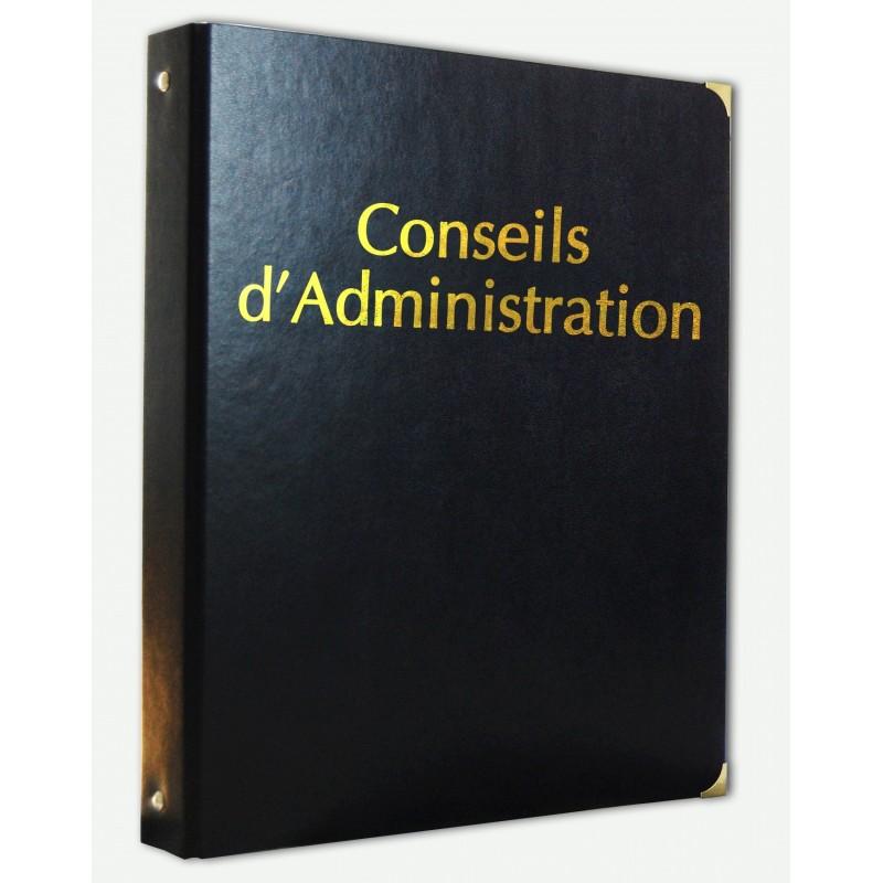 Registre - Conseils d'Administration