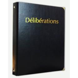 Registre des Délibérations avec Recharge 100 feuillets foliotés