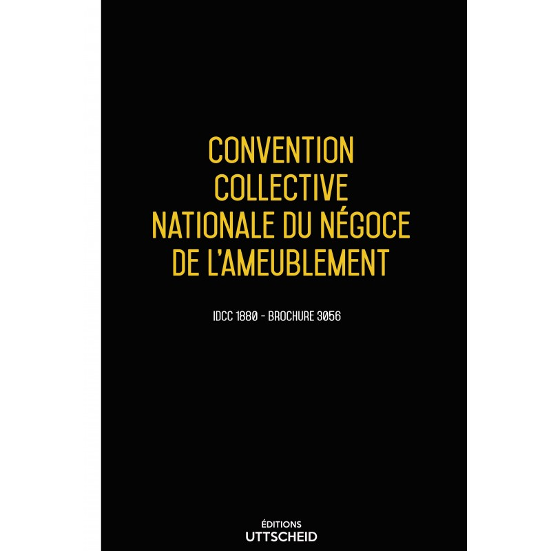 Convention collective nationale Négoce ameublement + Grille de Salaire