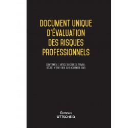Document unique d'évaluation des risques professionnels métier : Agent d'accueil - Version 2017