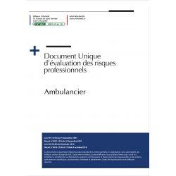 Document Unique d'évaluation des risques professionnels métier : Ambulancier - Version 2017